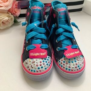 Skechers twinkle toes light up shoes 10